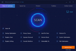 Advanced SystemCare Pro 12.5.0.354 Crack + Keygen 2019 [Win/Mac]