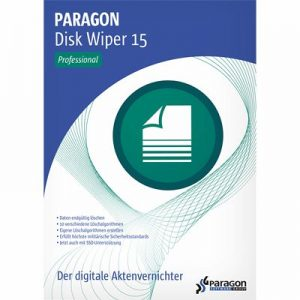 Paragon Disk Wiper 15 Professional +Special Edition Portable Crack 2020